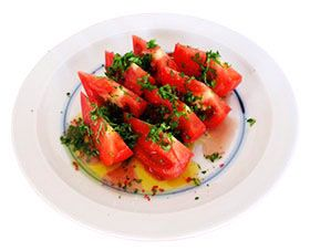 トマトの簡単サラダ