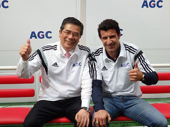 フィーゴ氏と石村社長