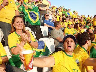 ブラジル人観戦者