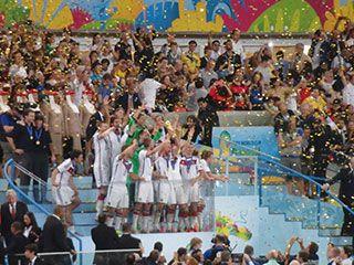 ブラジルW杯の優勝はドイツ