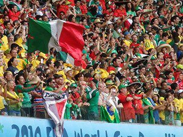 メキシコは選手も観戦者もパワフルだった