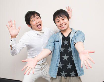 NON STYLEの石田さん(左)と井上さん(右)