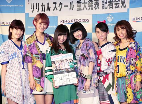 写真左から、ayaka、minan、hime、yumi、mei、ami
